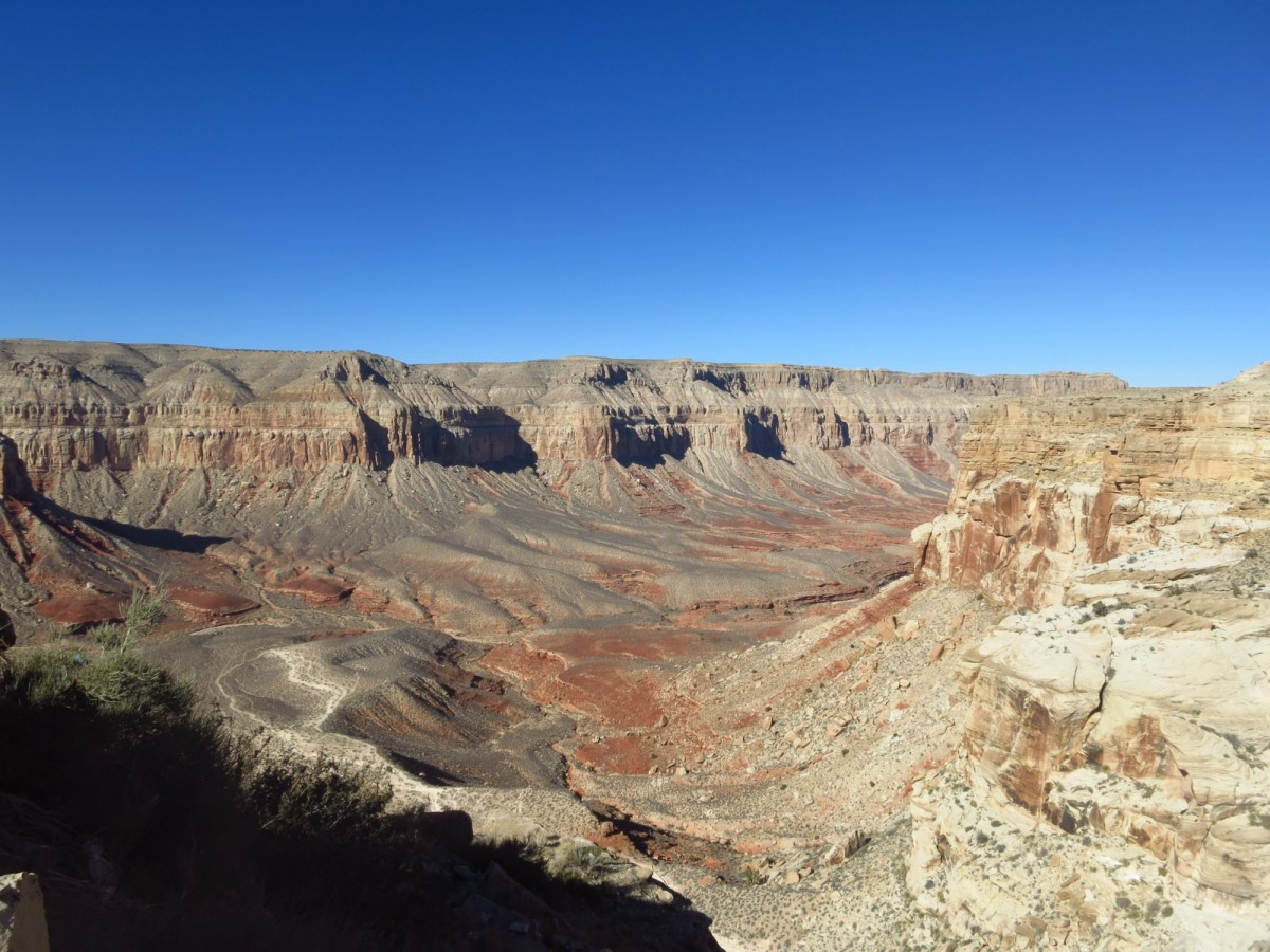 The View of Grand Canyon from Supai Trail head