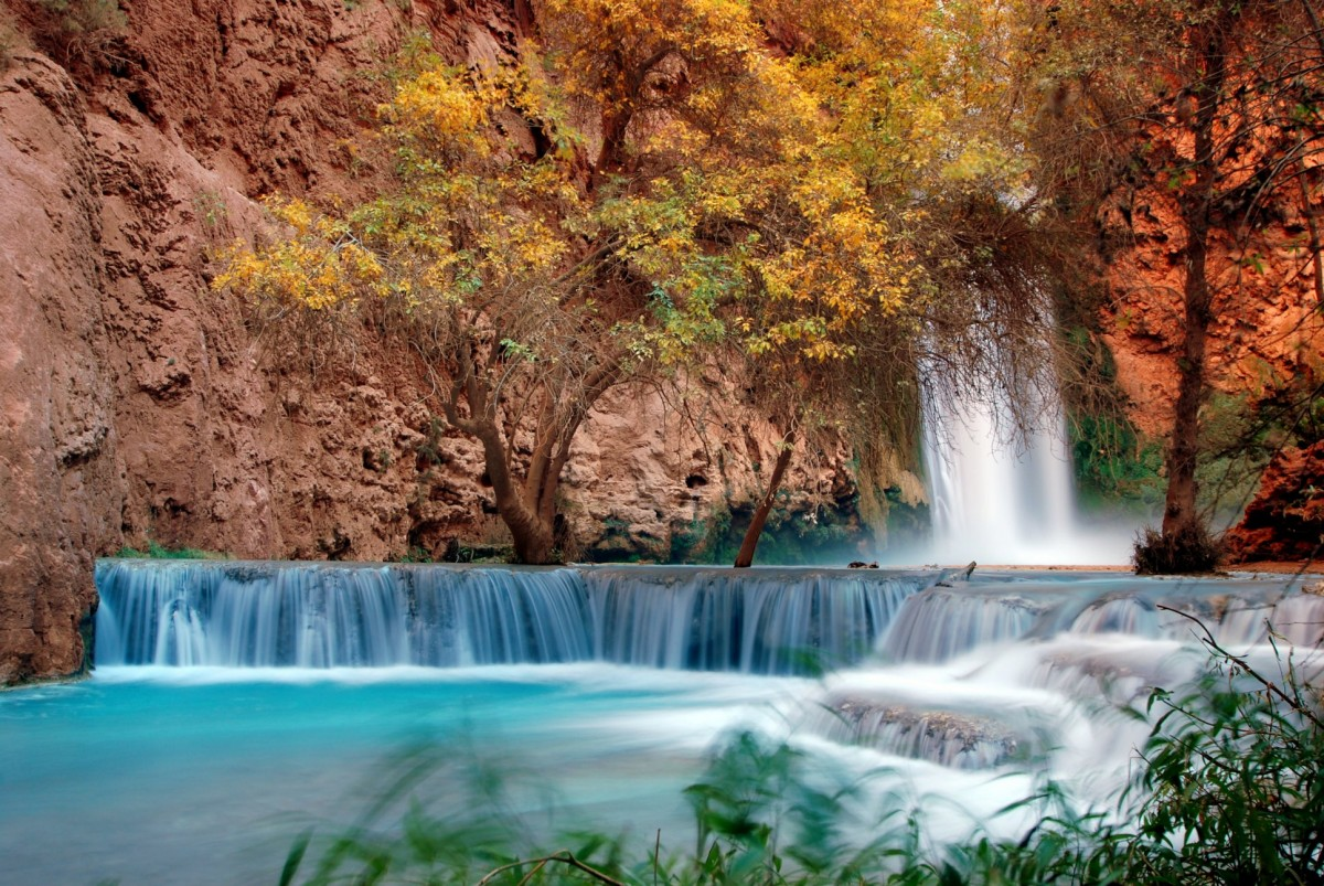 Bottom of Mooney Falls