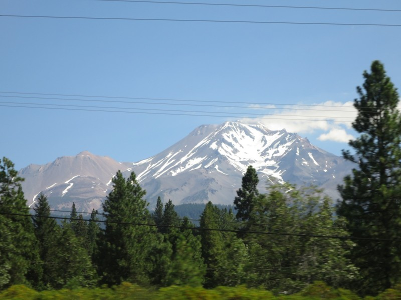 Mt. Shasta from South Side